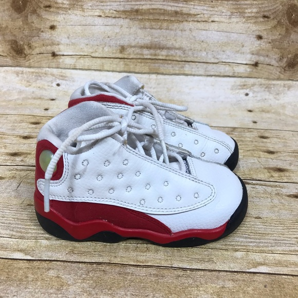 c62023171b0543 Jordan Other - Nike Air Jordan 13 Retro Red White Toddler Size 7C